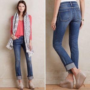 Anthro Pilcro & The Letterpress Parallel Cuff Jean